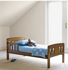 John Lewis Boris Toddler bed in antique wood