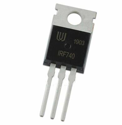10pcs Irf740 Mosfet Power N Channel 400v 10a N-ch Fet Logic Level Arduino