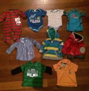 15 morceaux - Lot vêtements 3-6 mois garçons