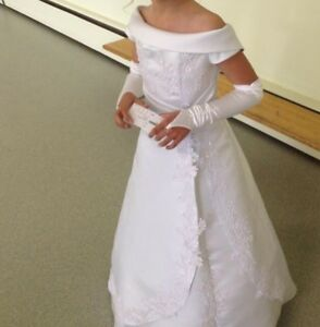 Beautiful Flower-girl or First Confirmation Girl Dress