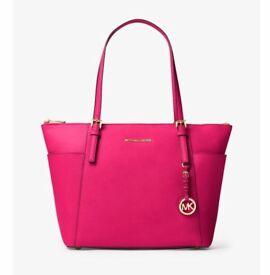 Pink and gold Michael kors bag