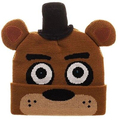Five Nights at Freddy's Beanie with LED Lights - Clothing With Led Lights