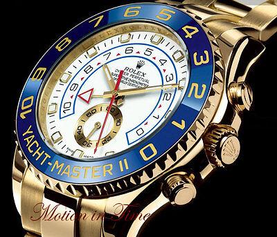 Rolex Yacht-Master II Regatta Chronograph 44mm 18kt Yellow Gold Oyster 116688