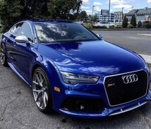 2017 AUDI RS7 heads up display & driver assistance night vision