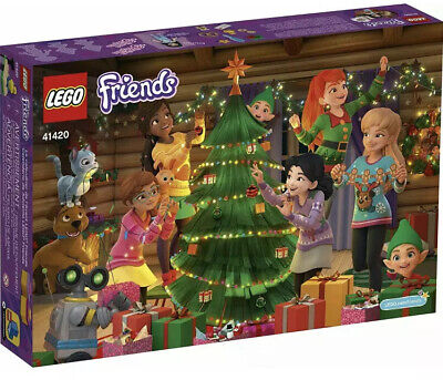 LEGO Friends Advent Calendar Building Play Set 41420 ~ New & Sealed ~ 236 Pieces