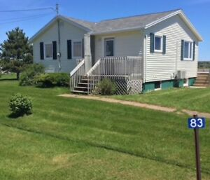 Colville Bay Oyster Co. Cottage for rent in Souris