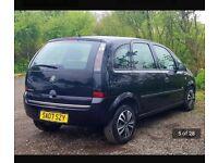 Vauxhall meriva life 1.4 car