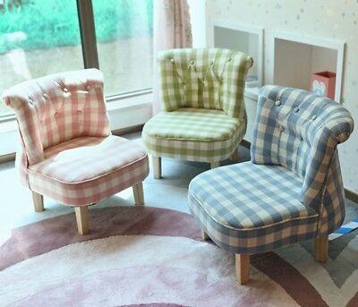 Kid Sofa Chair Furniture Ottoman French Pure Cotton Pinewood Flamingo Gift Pink