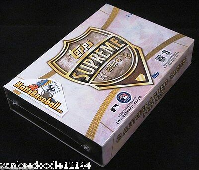 Изображение товара 2014 TOPPS SUPREME BASEBALL FACTORY SEALED HOBBY BOX PACK (2 AUTOGRAPHS)