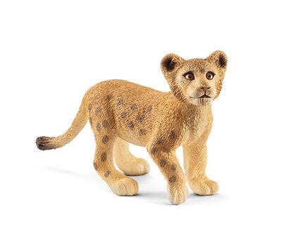 Schleich 14813 Lion Cub Wild Animal Model Toy Figurine 2018 - NIP
