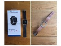 Fitbit blaze hr and extra leather strap