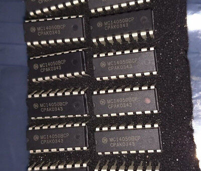 Qty 5 Pieces-on Semiconductor- Mc14050bcp-buffers Line Drivers 3-18v Hex Cmos