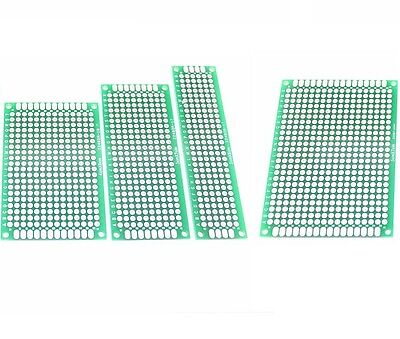 1510pcs Double Side Prototype Pcb Bread Board Tinned Universal 2x8cm - 9x15cm
