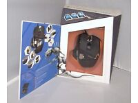 Cyborg R.A.T. 7 RAT Laser Gaming Mouse 6400 dpi for PC Mac Black