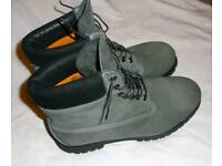 Timberland-Limited Edition Grey/Khaki 6 inch Boots