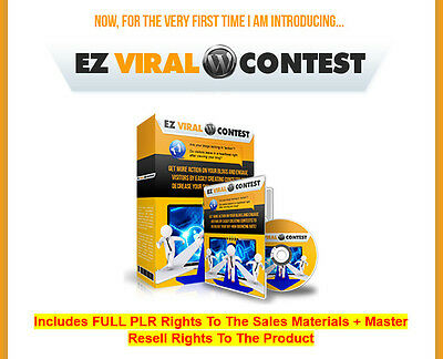 Contest Plugin For Wordpress Website Resell Rights   Sales Page