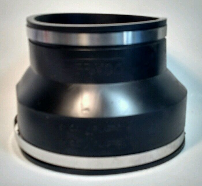 """6"""" x 8"""" Flexible Pipe Connector Coupling - Fernco 1056-86 Reducer, Enlarger"""