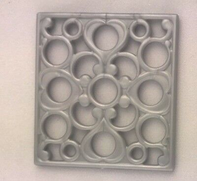 2013 Barbie Sisters Dreamhouse Glam Camper Gray Oven Rack Replacement Part NEW