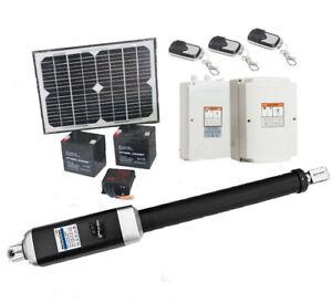 10W Solar Single Swing Auto Motor Remote Gate Opener 500KG