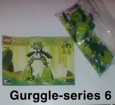 Mixels lego, mixel series 6, Gurggle. put together once/never played with