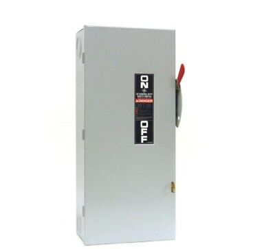 Ge Generator Power Transfer Safety Switch Non Fused Manual 100 Amp