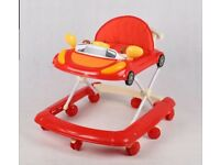 Baby Walker First Steps Push Along Bouncer Activity Music Ride