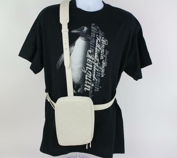 Louis Vuitton Ultra Rare Runway SS19 Virgil Abloh Utility Side Bag 4lz1023