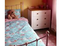 Beautiful Girl's Pink bed, with pink memory foam matress!
