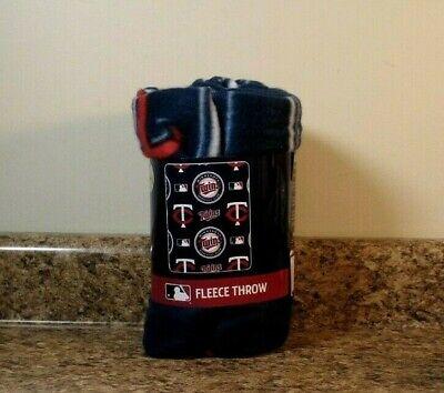Minnesota Twins Officially Licensed Fleece Throw Blanket NEW Minnesota Twins Throw