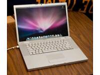 Macbook Pro 15 Pre Unibody C2D 2.16Ghz 4Gb 120Gb HDD Ms Office ProTools Final Cut 7 Adobe CS Warrant