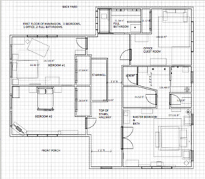 Drafting other services from skilled tradesmen in edmonton basic drafting floorplans malvernweather Choice Image
