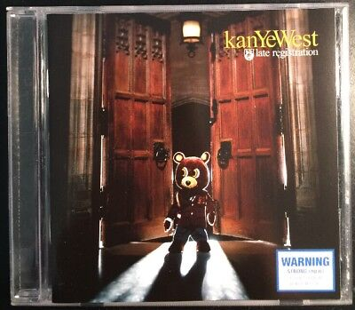 KANYE WEST 'Late Registration' 2005 CD Album Rap Hip-hop for sale  Shipping to Canada