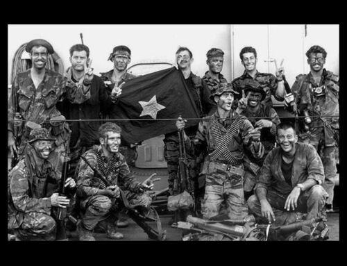 Vietnam War US Navy Seal Team One Group PHOTO 1969 SEAL TEAM 1