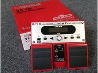 Boss VE-20 vocal processor pedal