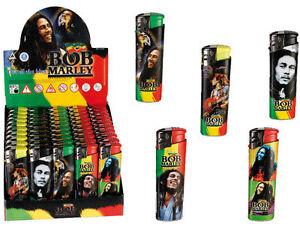 5 x Bob Marley Electric Refilable Lighter