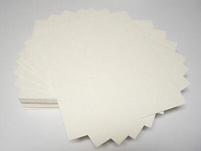 50 16x20 UNCUT mat matboard Cream Color