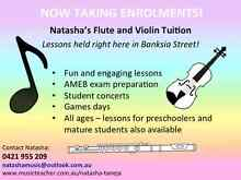 Natasha's Flute and Violin Tuition Burwood Whitehorse Area Preview