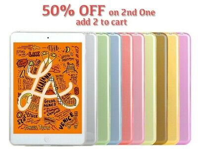 New Clear TPU Silicon Transparent Gel Case Cover For Apple iPad Mini 1 2 3 4 5