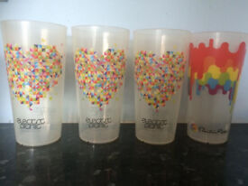 Electric Picnic / Oxegen. Plastic Beer Tumblers. Festival merchandise collection