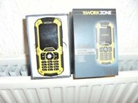 WorkZone tough mobile phone