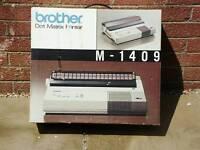 Brother dot matrix printer