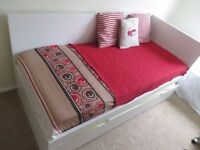 Ikea FLAXA bed plus guest bed underbed