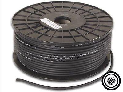 Rollo 100 mts. Cable de Microfono XLR Mic cable coaxial Negro Envio...