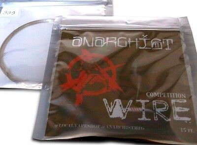 SALE! 22g Anarchist Competition Wire -15ft (Clapton, Staple, Alien, Staggered)