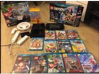 Nintendo Wii U, 13 games and accessories