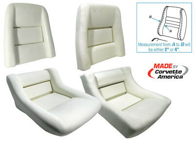 1979 - 1982 Corvette Seat Foam.  New  Complete Set ()
