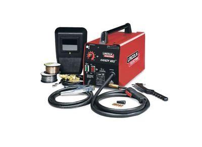 Welding Machine Lincoln Mig Welder 120v Electric Wire Home Automotive Garage New