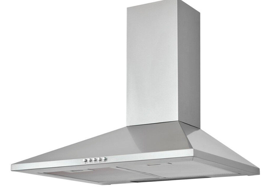 CHS60 Stainless Chimney Cooker Hood in Stainless Steel & Carbon Filter (W) 600mm