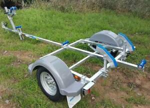 GAL BOAT TRAILER SUITS UP TO 4.0 mt ALUMINIUM HULL 110 kg TARE Erina Gosford Area Preview