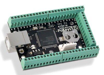USB-Interface PoKeys 57U, 55 digitale I/O, 7 analoge Eingänge, einfach zu konfig